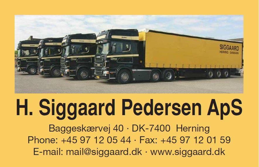 H. Siggard Pedersen